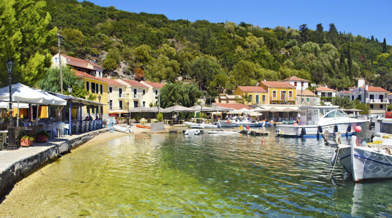 Travel to Ithaca, Greece - Kioni port