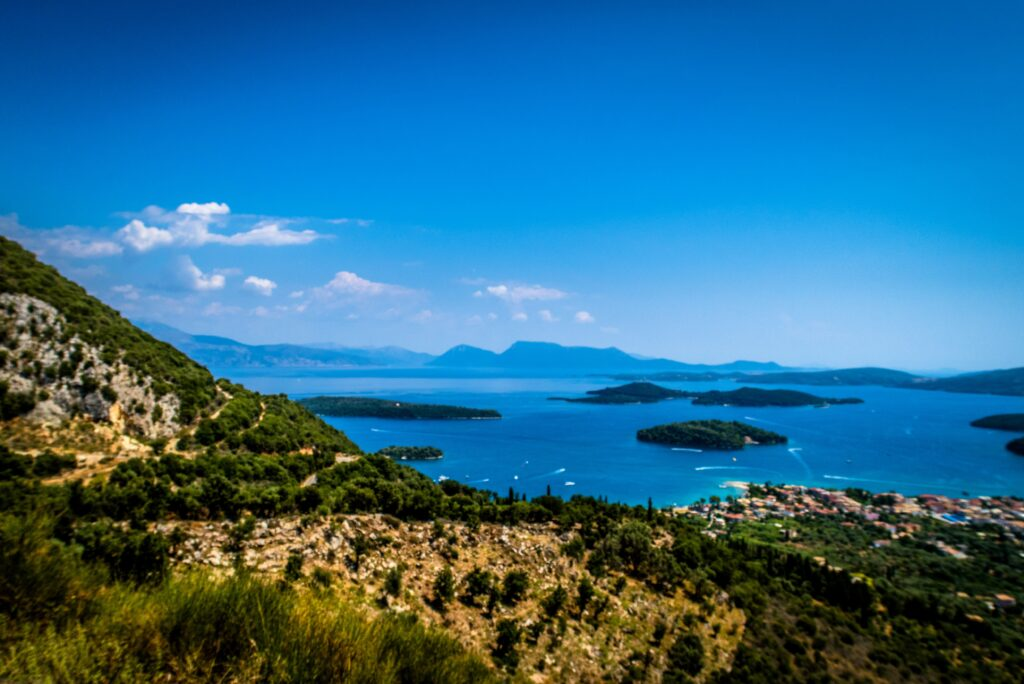 Travel to Lefkada, Greece - Nidri and islets