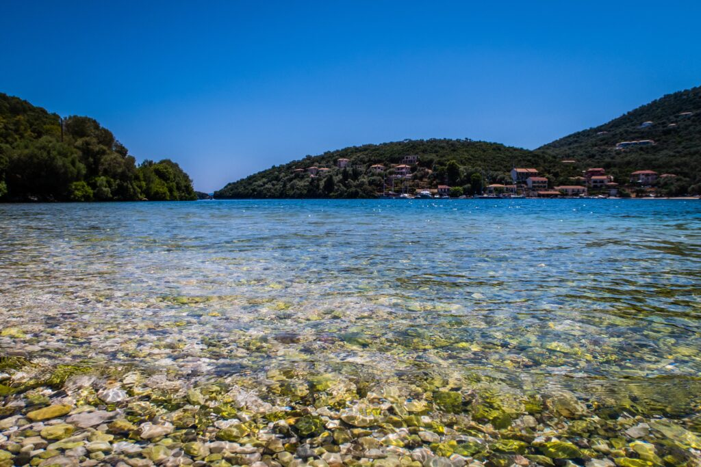 Travel to Lefkada, Greece - View of Syvota - photo by Guiseppe Dio