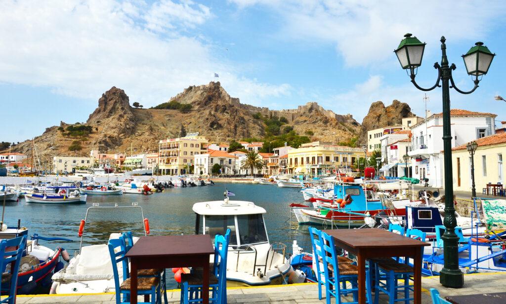 Lemnos, Greece - Myrina harbor, photo Spiros Salamouras