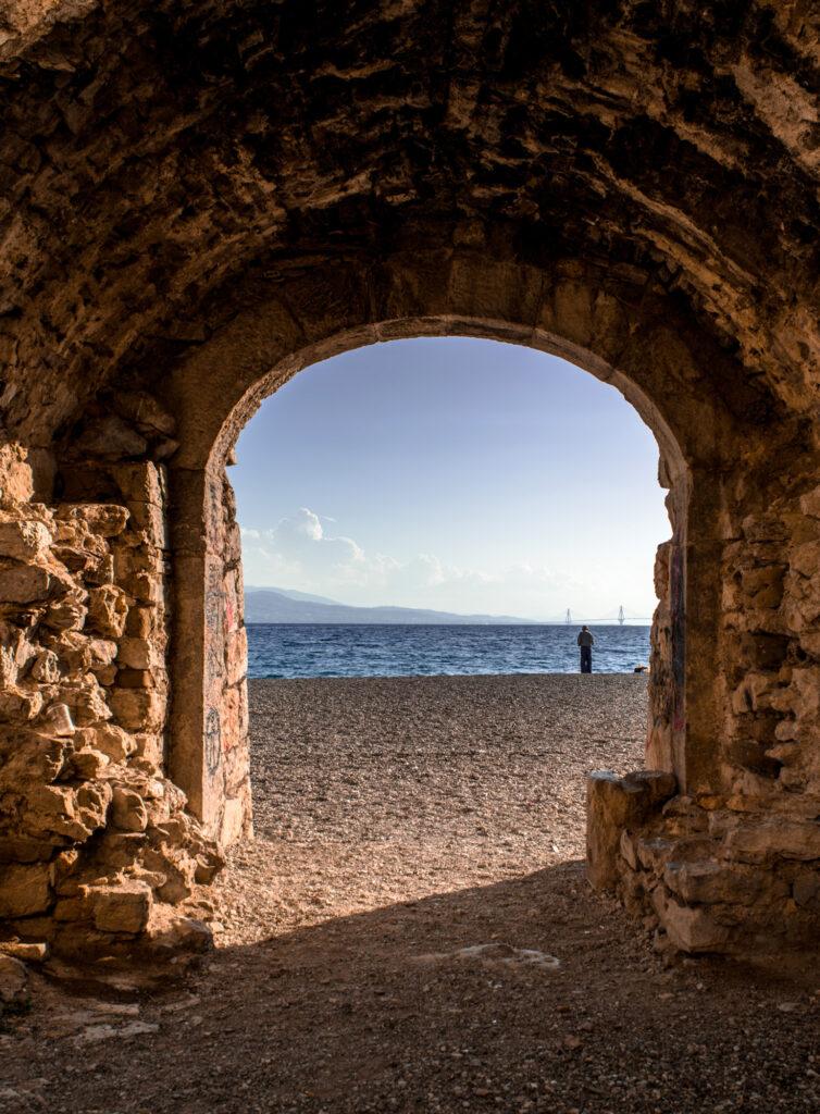 Travel to Nafpaktos - Venetian Habor and beach
