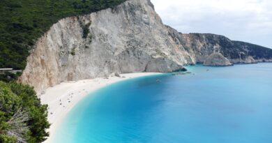 Travel to Lefkada, Greece - Porto Katsiki beach - photo by Joris Beugels