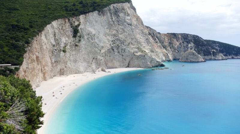 Travel to Lefkada, Greece - Porto Katsiki beach - photo by Joris Beugels