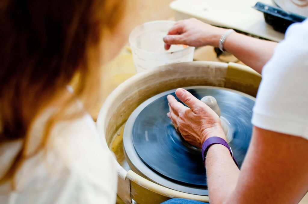 Pottery workshop in Greece