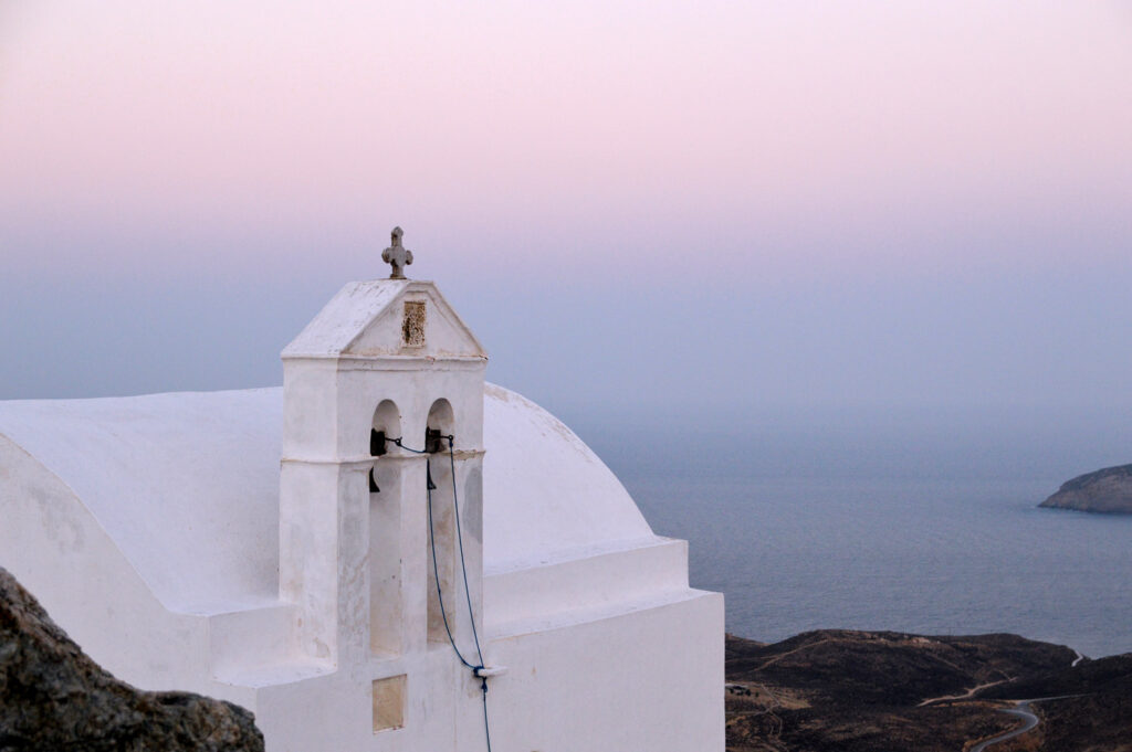 Travel to Serifos, Cyclades, Greece - Church bells - Photo by Christos Berdesis