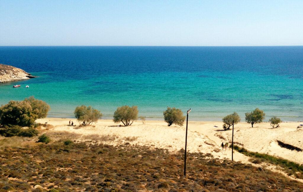 Travel to Serifos, Cyclades, Greece - beach
