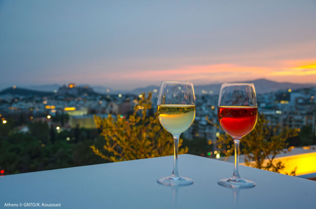 Travel to Greece - Athens, wine - photo by K. Kouzouni