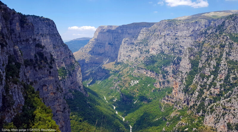 Vikos Gorge, Epirus, Greece - Photo by S. Mourelatou