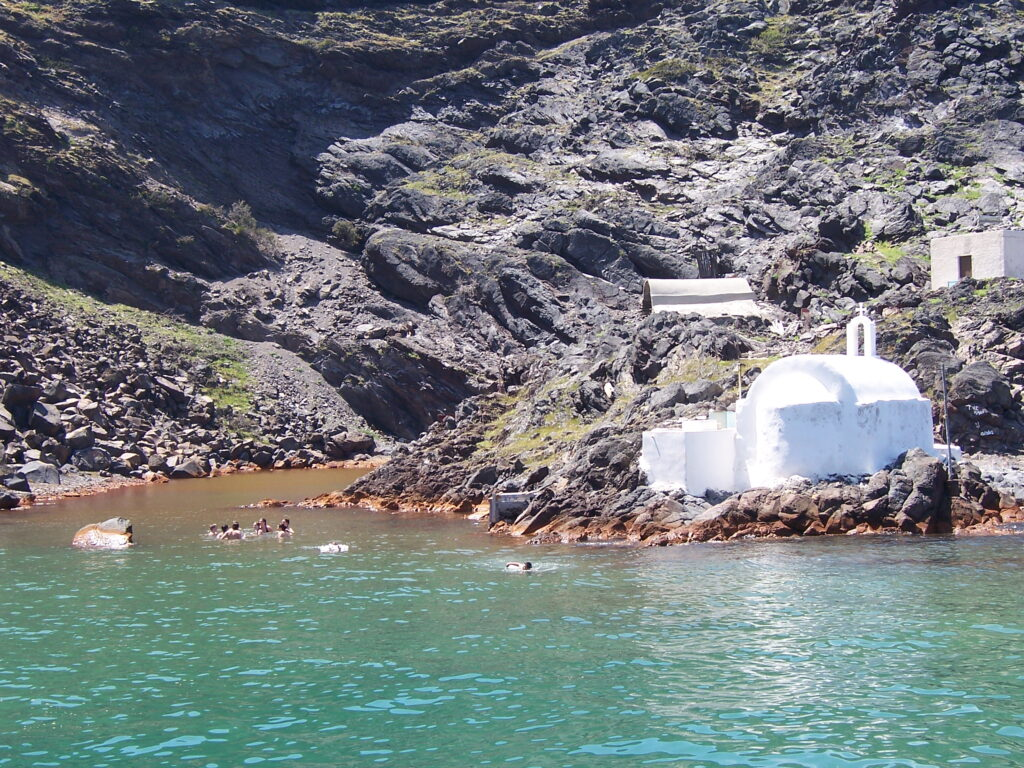 hot springs and thermal spas in greece