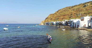 Travel to Greece - Sea kayaking in Milos
