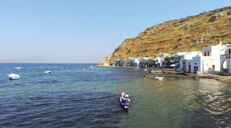 Travel to Greece - Sea kayaking in Milos