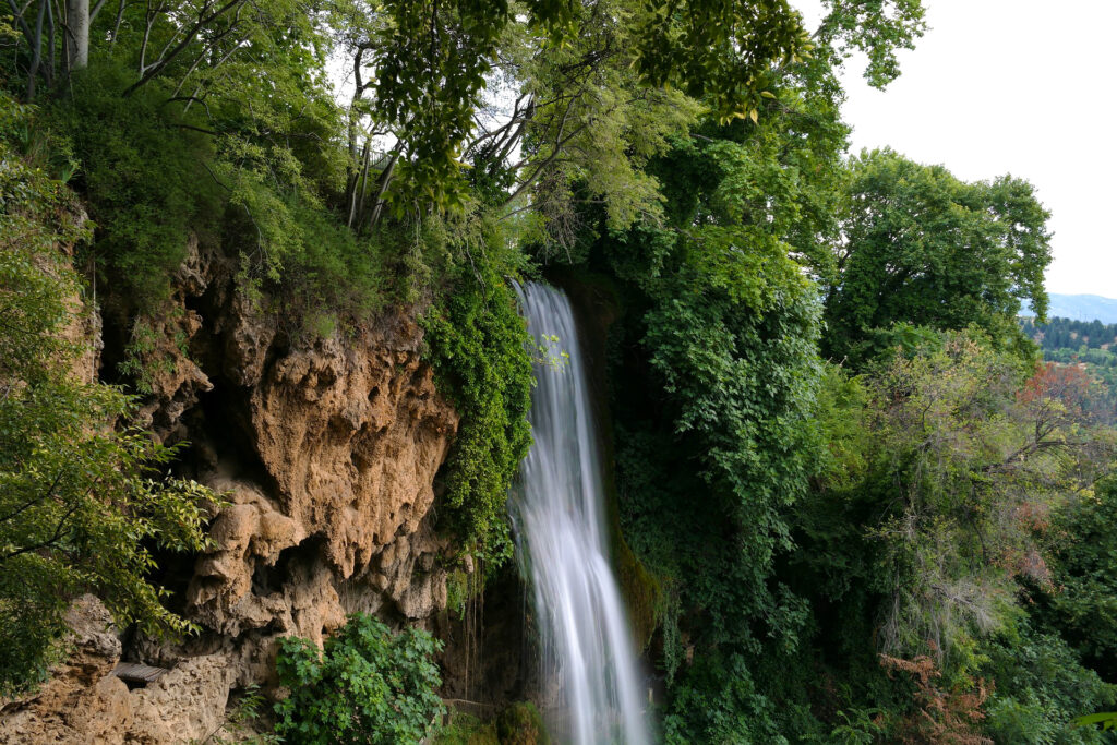 Travel to Greece -Waterfalls in Edessa, Northern Greece