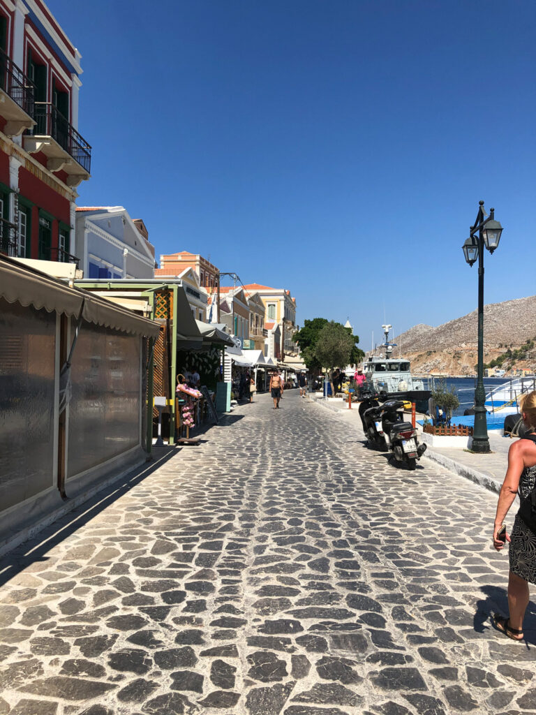 Travel to the Dodecanese, Greece - Symi Harbour, Symi Island