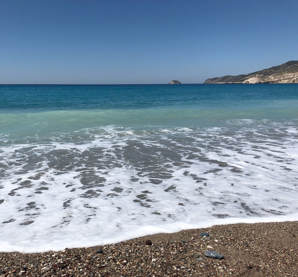 Travel to the Dodecanese, Greece - Beach on the west coast of Rhodes