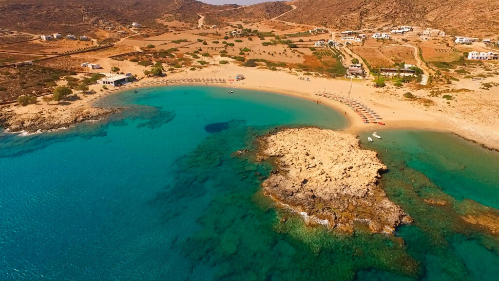 Manganari beach, Ios island, Cyclades Greeece