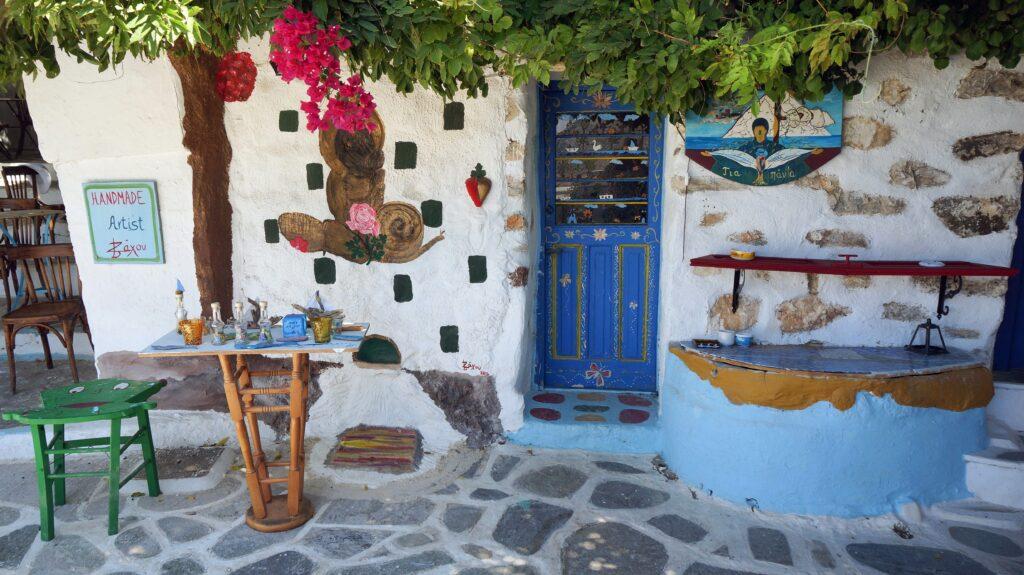 Travel to Amorgos, Greece - Chora - Photo Monique Stokman