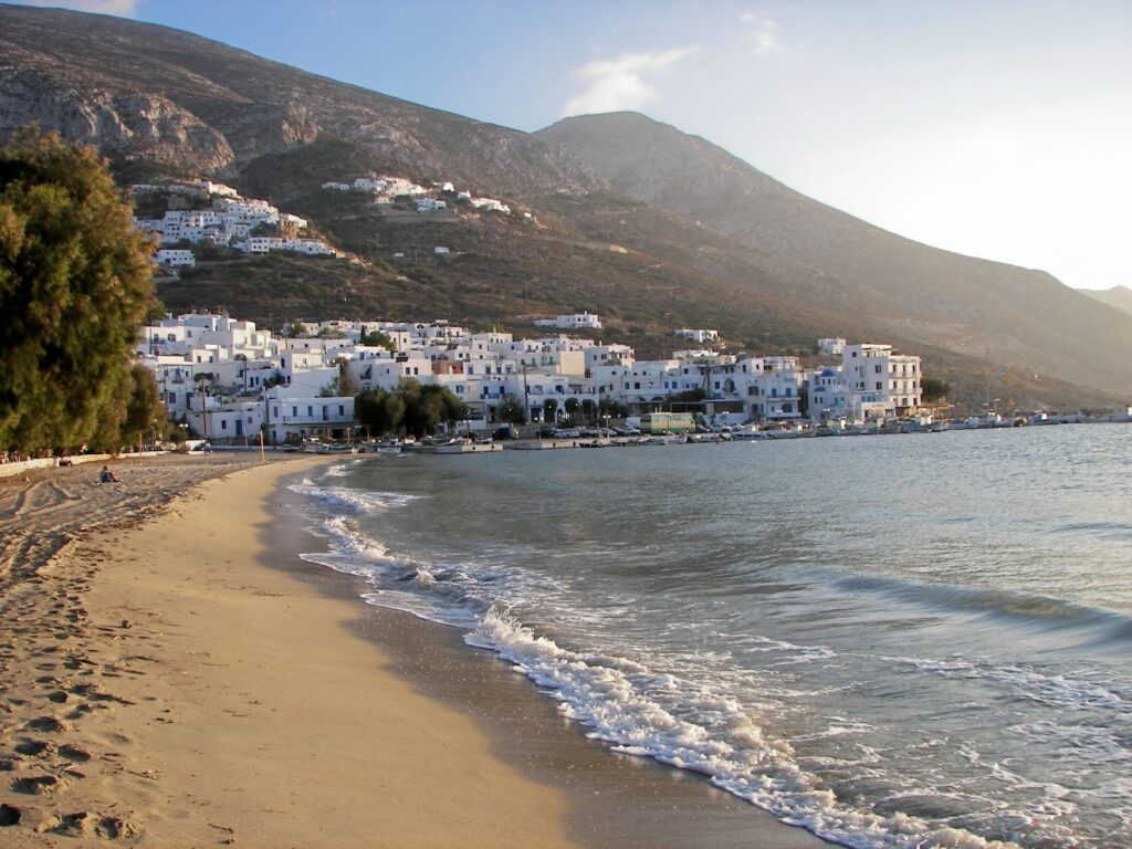 Travel to Amorgos, Greece - Egiali beach - Photo Olle August