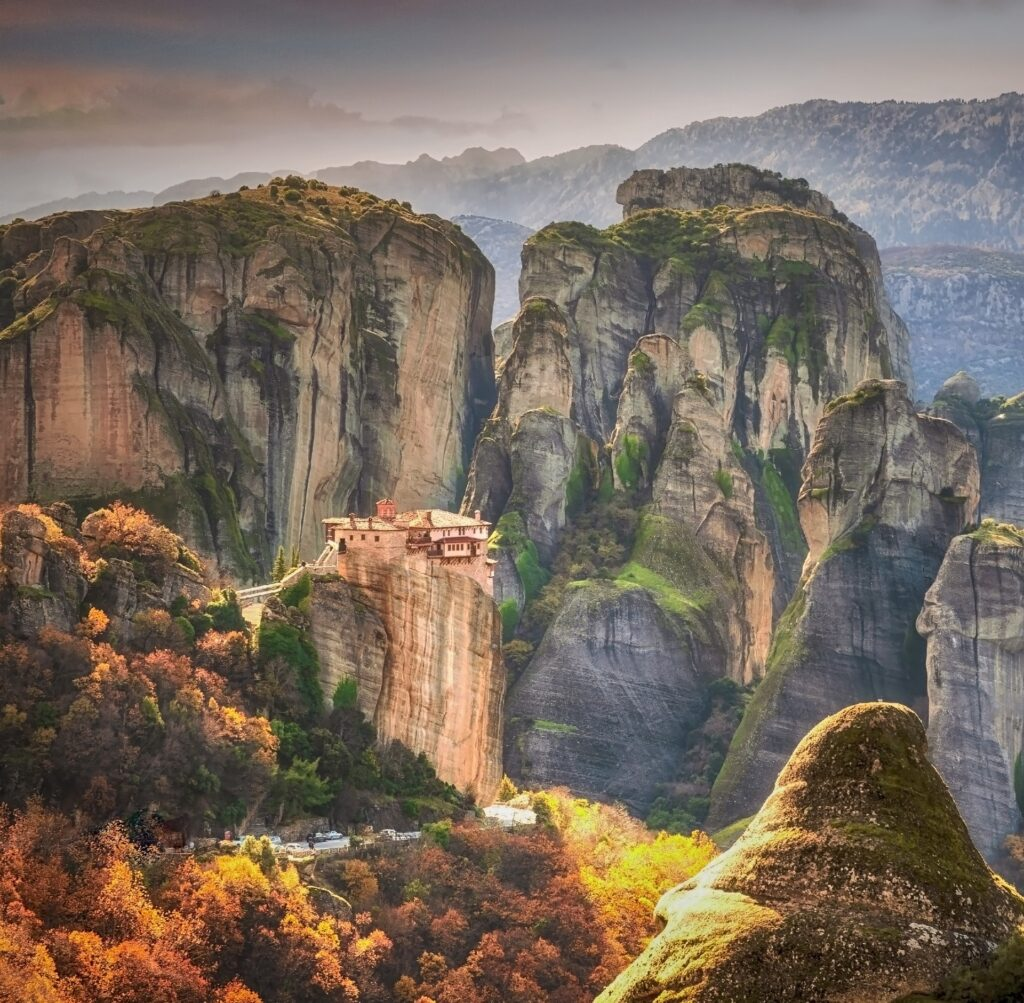 Travel to Meteora Monasteries, Thessaly, Greece