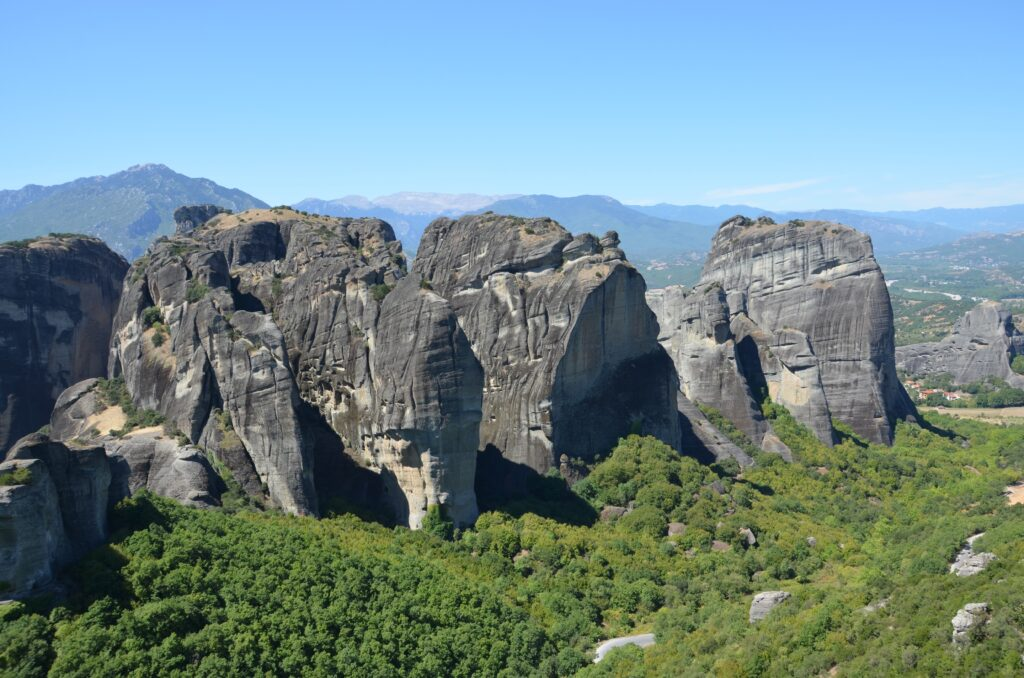 rock climbing in Meteora Greece