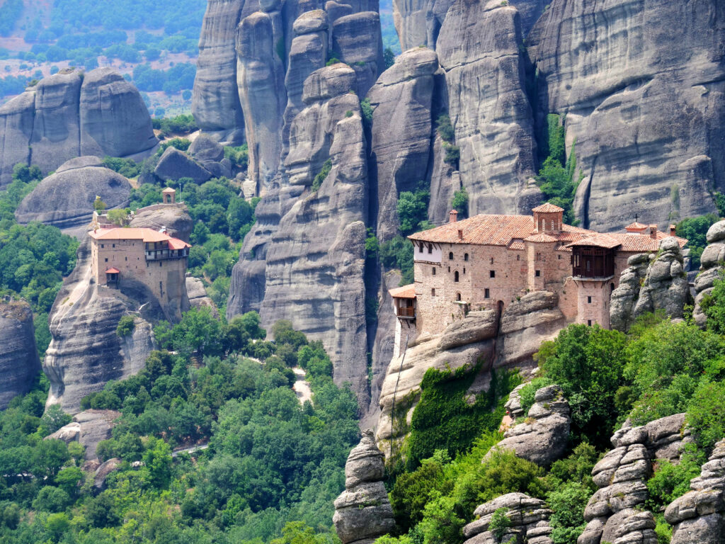 Travel to Meteora Monasteries, Thessaly, Greece - Photo by Fauve Othon