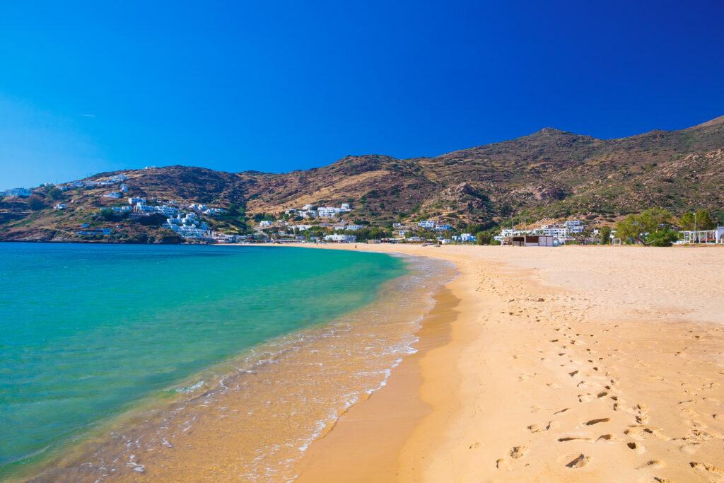 Mylopotas beach, Ios, Cyclades Greece