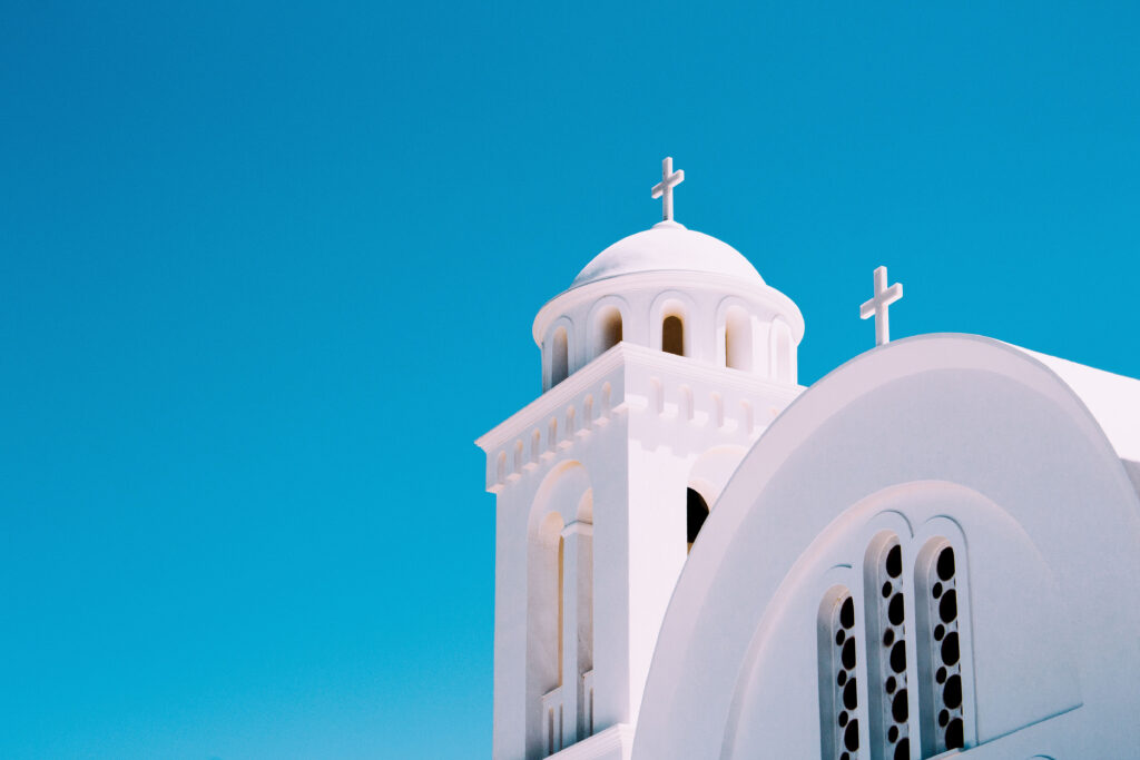 Church in Paros Greece - Photo by Alexandre Chambon