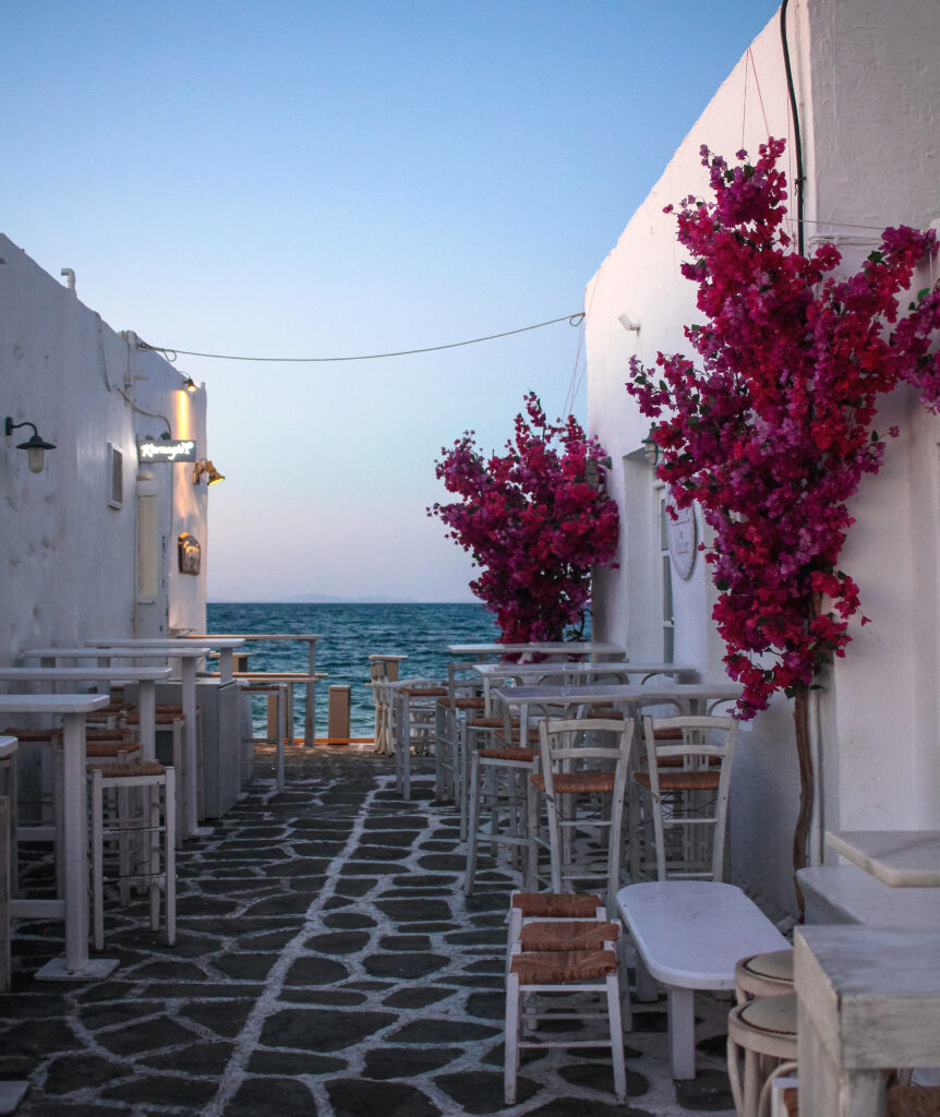 Naousa in Paros Greece - Photo Nathan Boadle