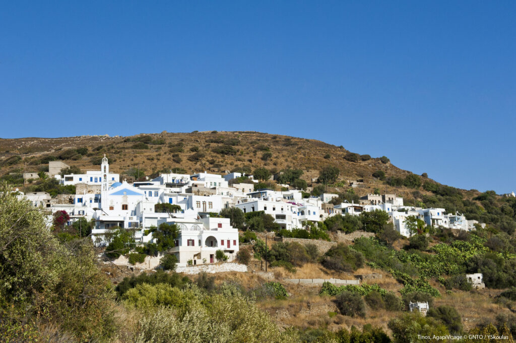 Travel to Tinos, Cyclades, Greece - Agapi village - Photo by Y. Skoulas