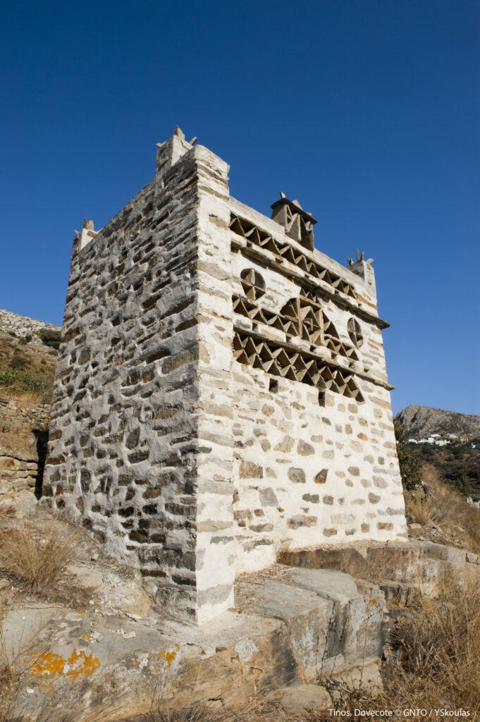 Travel to Tinos, Cyclades, Greece - Dovecote - Photo by Y. Skoulas