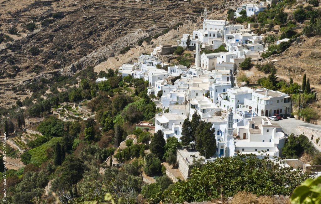 Travel to Tinos, Cyclades, Greece - Kardiani village - Photo by Y. Skoulas