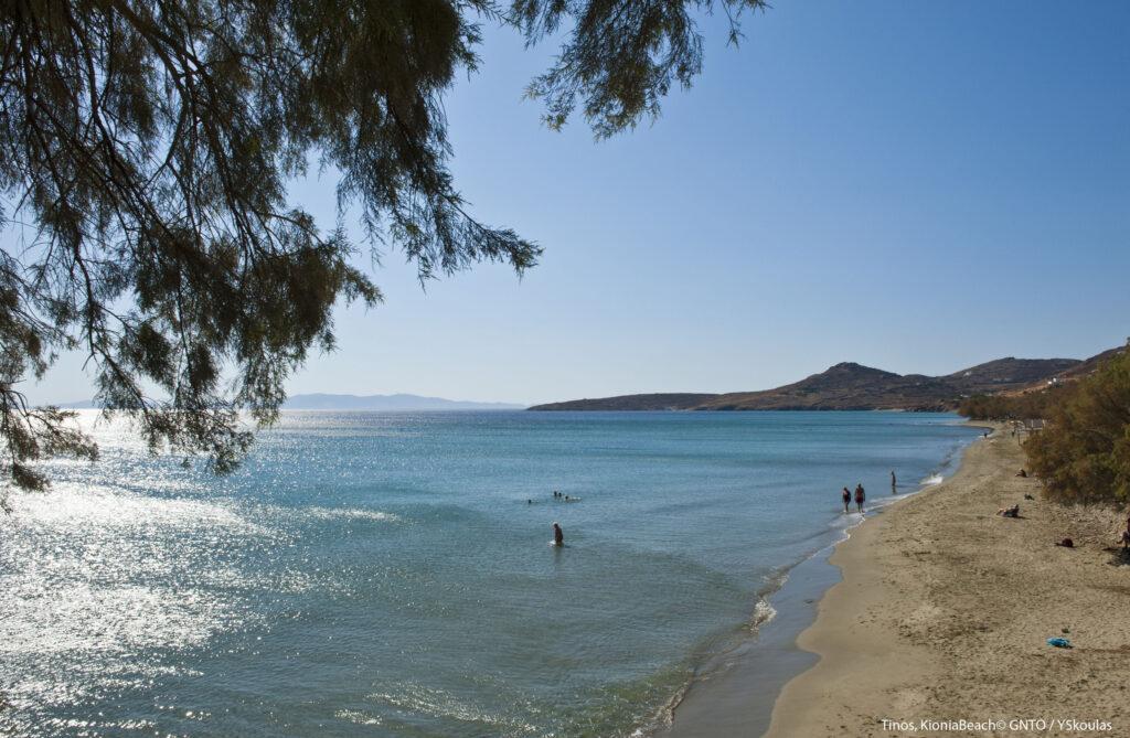Travel to Tinos, Cyclades, Greece - Kionia Beach - Photo by Y. Skoulas