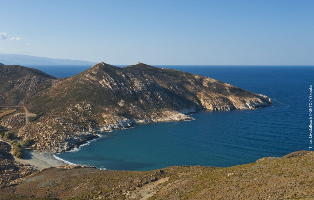 Travel to Tinos, Cyclades, Greece - Livada Beach - Photo by Y. Skoulas