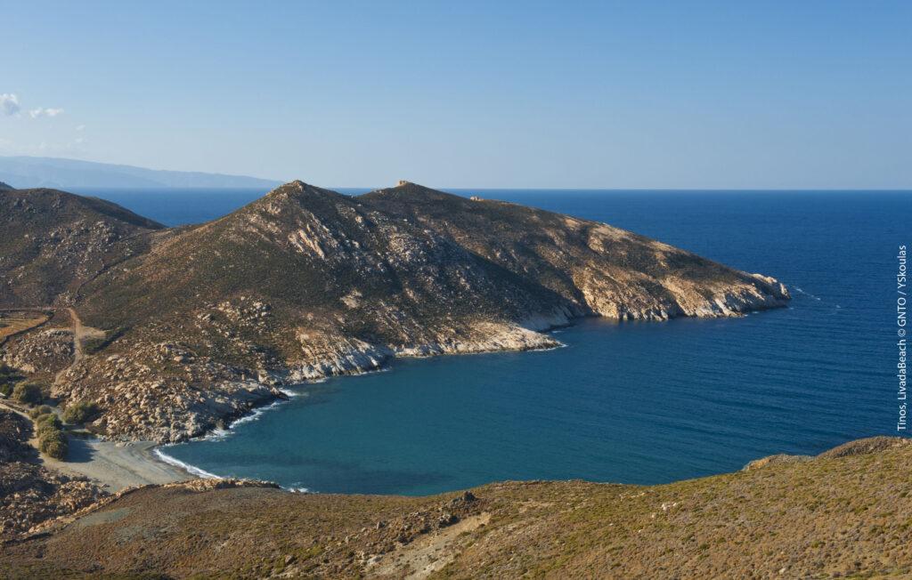 Travel to Tinos, Cyclades, Greece - Livada Beach - Photo by Y. Skoulas