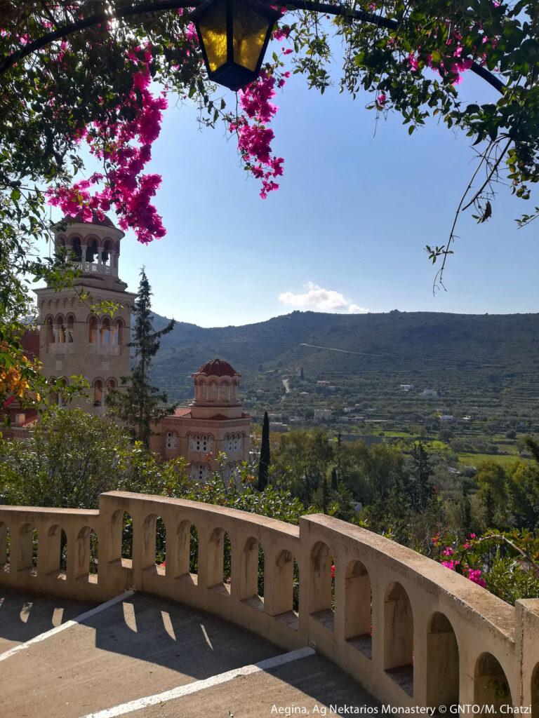 Aegina, the Monastery of Agios Nektarios, Saronic Gulf, Greece - Photo by M. Chatzi