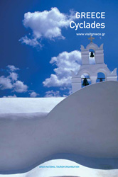 E-book travel guide Cyclades Islands Greece