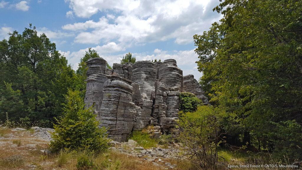 Stone Forest, Monodendri, Zagoria, Epirus - Photo S. Mourelatou