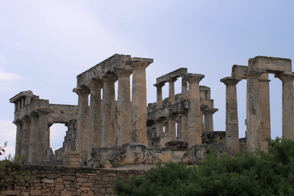 Aegina, Afaia Temple, Saronic Gulf, Greece - Photo by Alexander Grishin
