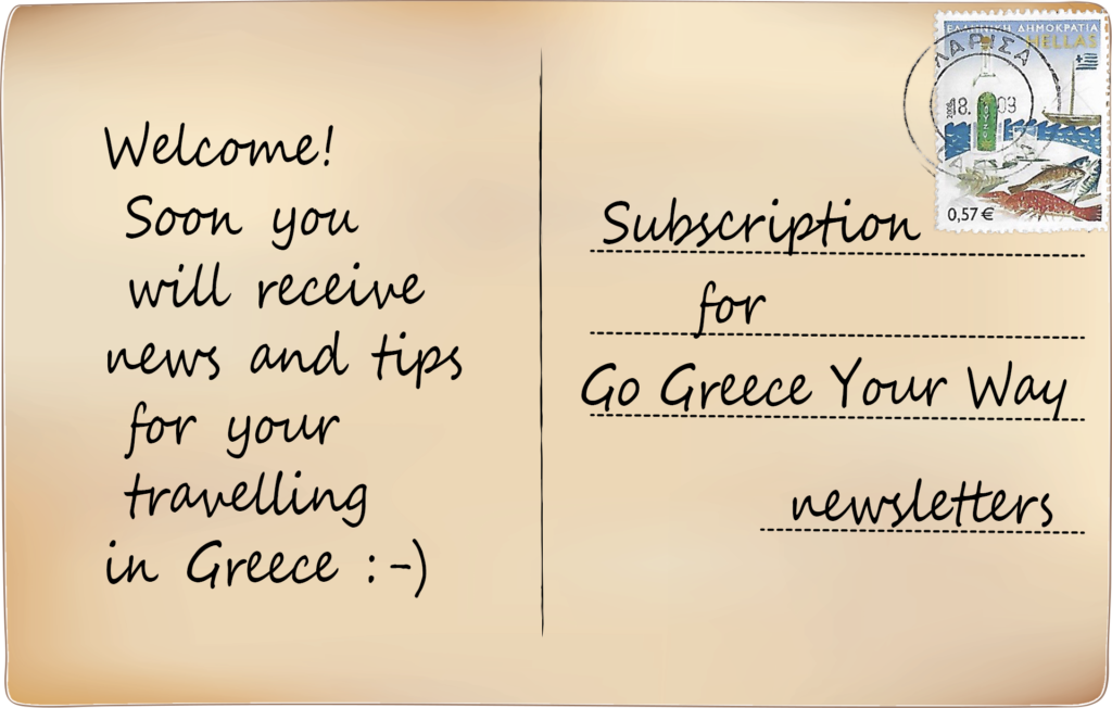 newsletter postcard from go greece your way