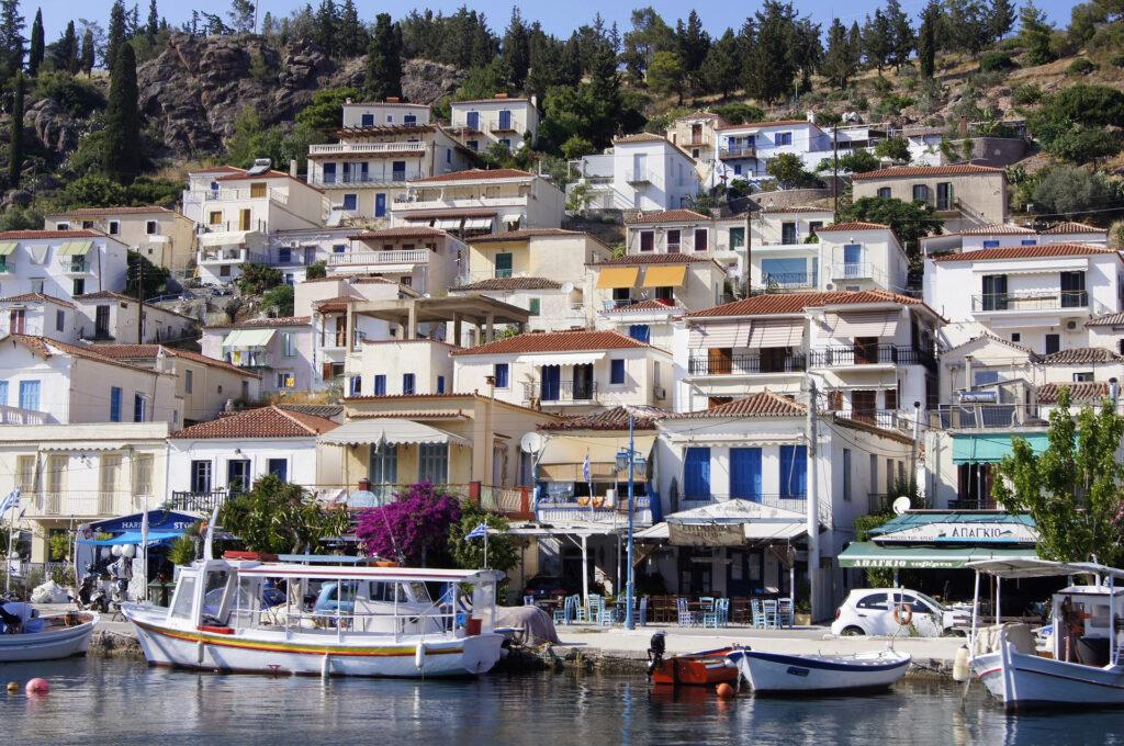 Poros Town, Poros, Saronic Gulf, Greece