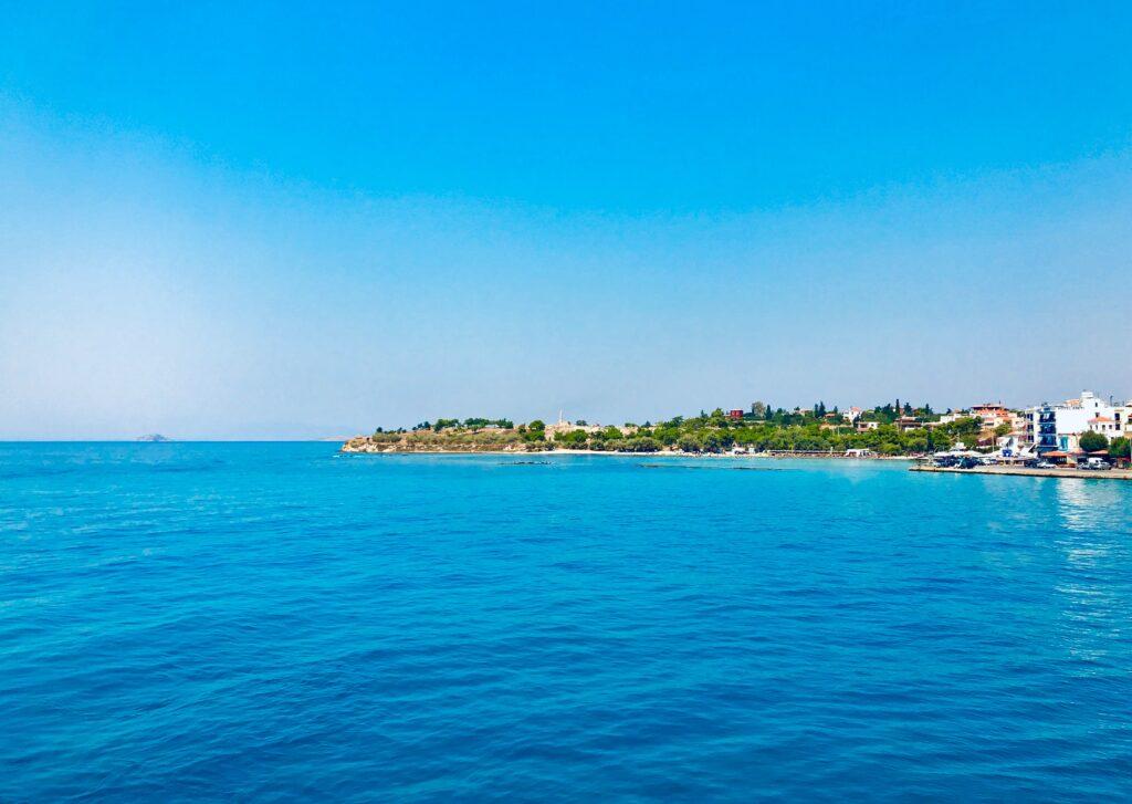 Aegina seascape, Saronic Gulf, Greece - Photo by Emily Karakis