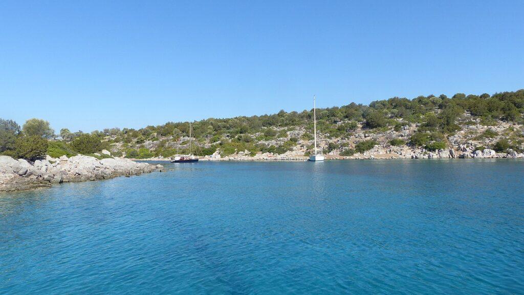 Dokos island in the Argo-Saronic Gulf, Greece - Photo by Orit Kislev