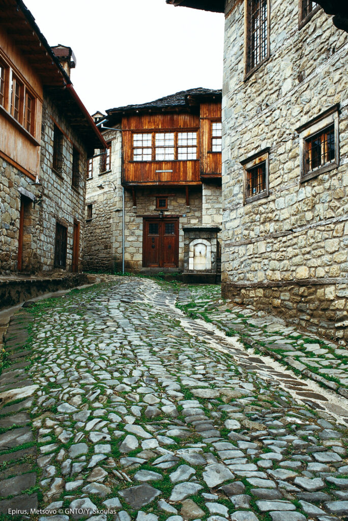 Street of Metsovo, Ioannina, Epirus, Greece - Photo by Y. Skoulas