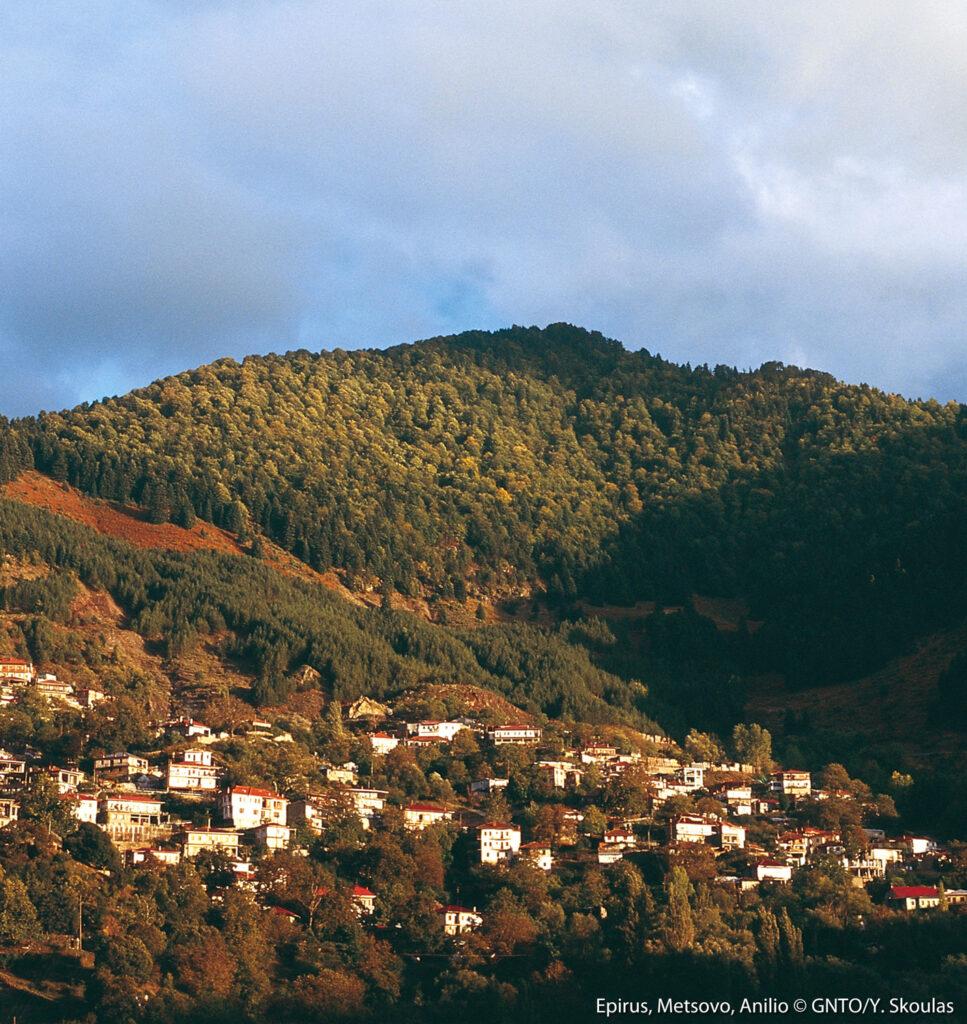 Anilio village, Metsovo, Epirus, Greece - Photo Y. Skoulas