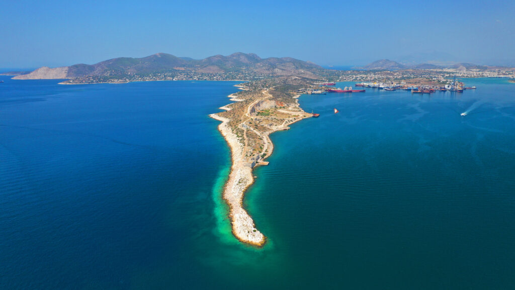 iconic-peninsula-of-kinosoura-or-dog-s-tail-in-industrial-part-of-island-of-salamis-saronic-gulf-greece