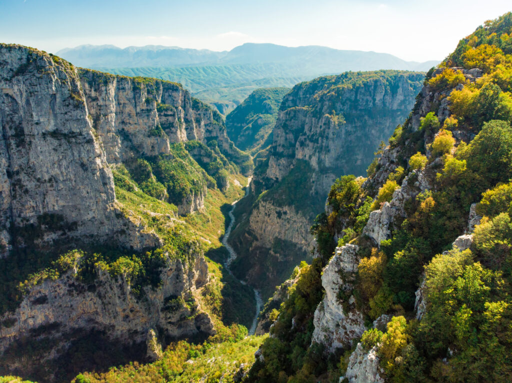 aerial-view-of-vikos-gorge-in-the-pindus-mountains-of-northern-greece-lying-on-the-southern-slopes-of-Mount-Tymfi-one-of-the-deepest-gorges-in-the-world
