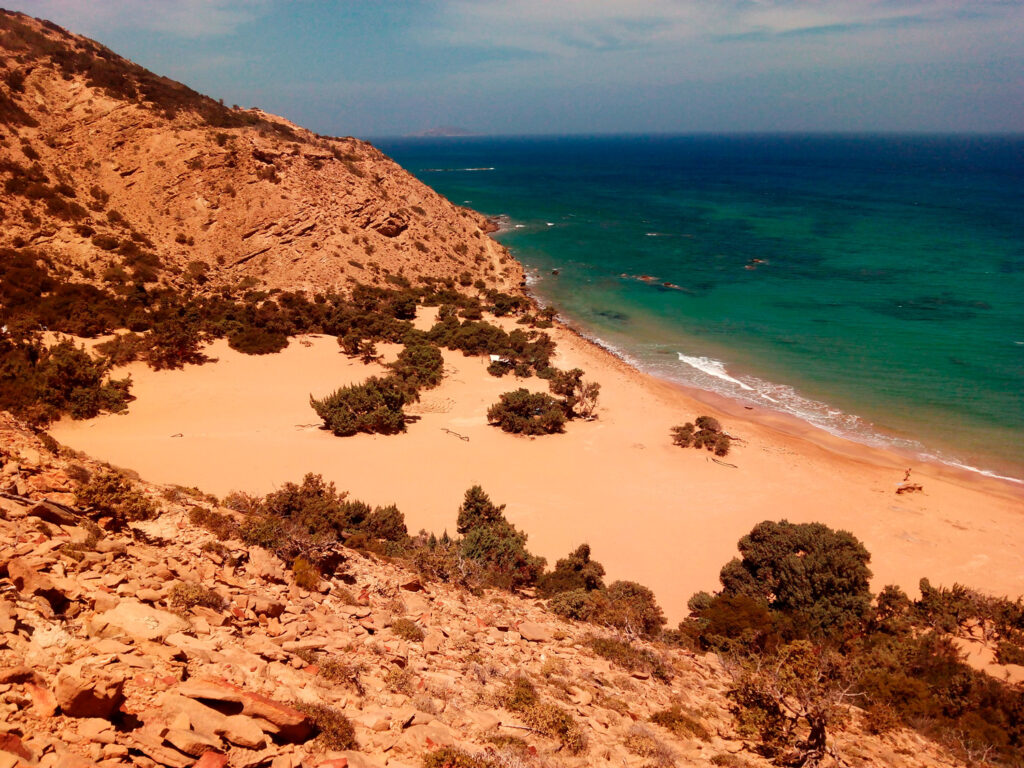 Agios Ioannis Beach, Gavdos island, Greece