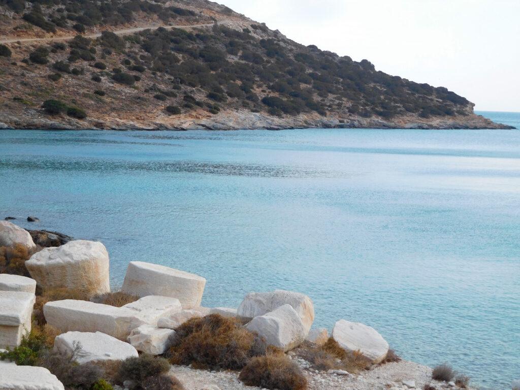 fournoi-korseon-ancient-marble-quarry-at-petrokopio-beach-fourni-island-greece