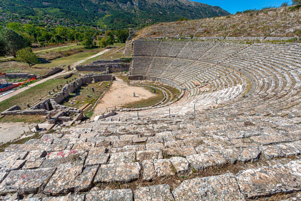 magnificent-greek-theater-in-dodona-ioannina-epirus-greece
