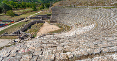 magnificent-greek-theater-in-dodona-ioannina-epirus-greece