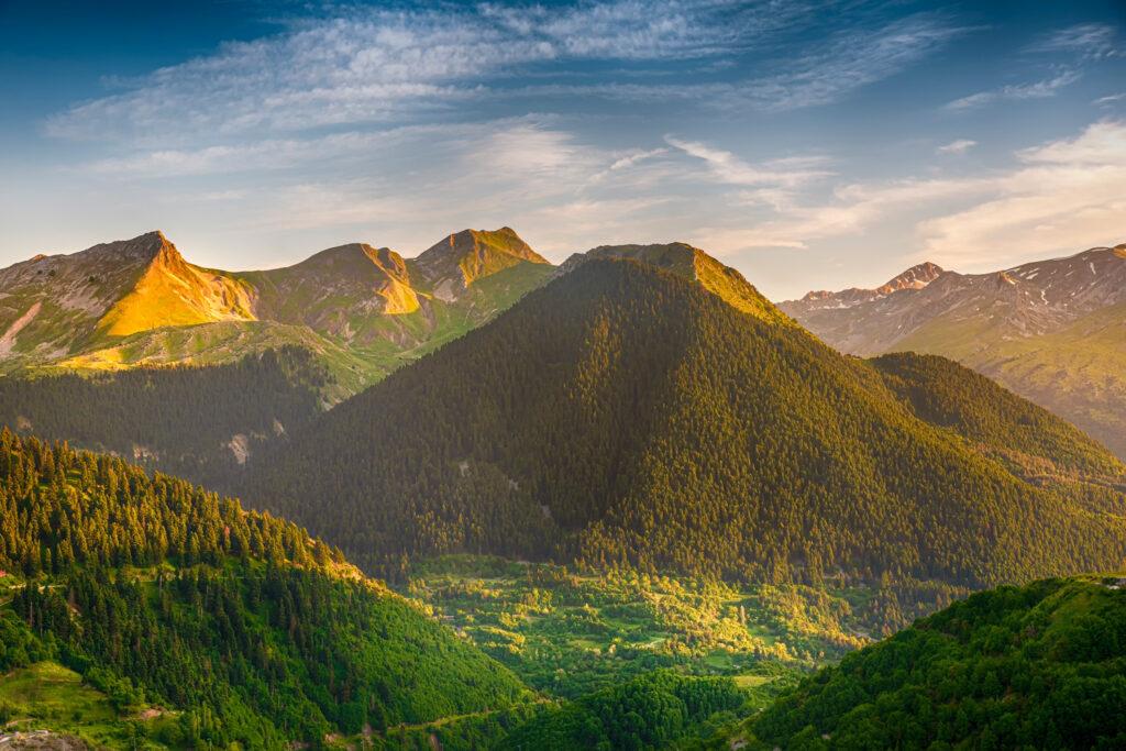 Mountains around Metsovo, Epirus, Greece